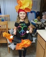 Camp Fire Homemade Costume