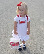 Campbell's Soup Kid Homemade Costume
