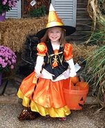 Candy Corn Girl Costume