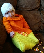Candy Corn Sweetie Homemade Costume