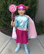 Candy Girl Homemade Costume