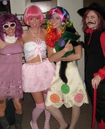 Candy Land Costumes