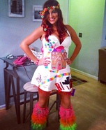 Candy Land Homemade Costume