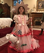 Candy Witch Homemade Costume