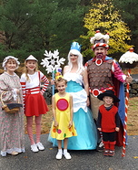 CandyLand Family Homemade Costume