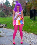 Candyland Katy Perry DIY Costume