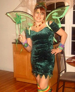 Homemade Cannabis Fairy Costume