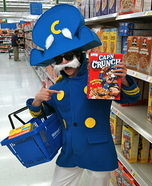 DIY Cap'n Crunch Costume