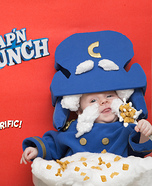 Cap'n Crunch Homemade Costume