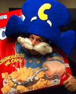Cap'n Crunch Homemade Costume