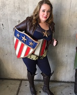 Female Captain America Costume