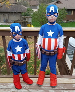 Captain America Homemade Costumes