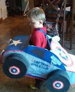 Captain America Monster Truck Homemade Costume