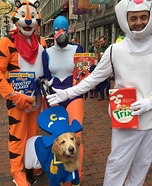 Captain Crunch and the Cereal Bunch Homemade Costume