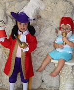 Captain Hook and Smee Homemade Costume