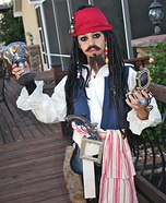 Captain Jack Sparrow Halloween Costume for Boys