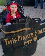 Cute baby costume ideas: Captain Jax Sparrow Homemade Costume