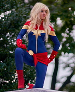 Captain Marvel Homemade Costume