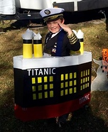Captain of Titanic Homemade Costume