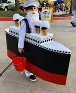 Captain Smith & the Titanic Homemade Costume