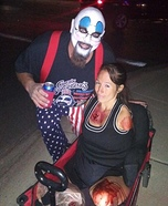 Captain Spaulding & his beautiful victim Homemade Costume