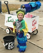 Car Wash Homemade Costume