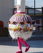 Caramel Candy Apple Homemade Costume