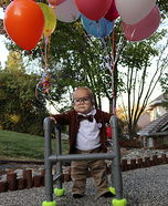 Carl Fredricksen Homemade Costume