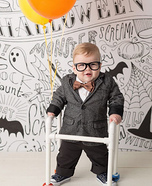 Carl Fredricksen Baby Homemade Costume