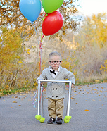 Carl Fredricksen from UP Baby Halloween Costume