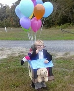 Carl from Disney's Up Costume DIY