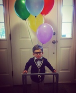 Toddler Carl from Up Costume