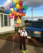 Carl from Up Costume for Boys