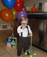 Cute baby costume ideas: Carl from Up Homemade Costume