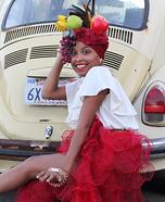 Carmen Miranda Homemade Costume