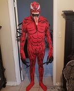 Carnage Homemade Costume