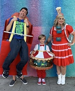 Carnival Rides Family Costume