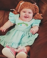 Caroline the Cabbage Patch Doll Homemade Costume
