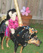Carousel Horse Homemade Costume for Dogs