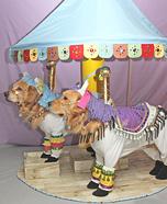 Carousel Horses Dogs Homemade Costume