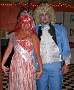 Carrie and Dead Prom Date Couple Costume