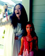 Carrie and her Mother Costume