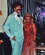 Carrie Couple Homemade Costume
