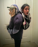 Optical Illusion costumes - Carried in a Backpack Costume