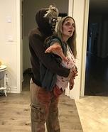 Carry my torso Zombie Homemade Costume