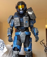 Carter from Halo Reach Homemade Costume