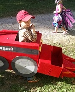 Case IH Combine Homemade Costume
