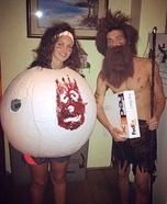 Castaway Costume for Couples