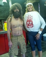 Castaway and Wilson Couple Costume