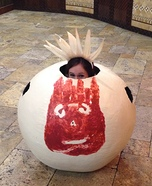 Castaway's Wilson Homemade Costume